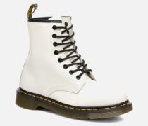 1460 W Stiefeletten & Boots in weiß