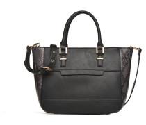 MAGNOLIA ROSE Porté main Handtasche in schwarz