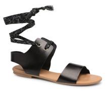 SANDBEACH Sandalen in schwarz