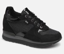 49268 Sneaker in schwarz