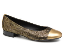 D WISTREY D844GD Ballerinas in goldinbronze
