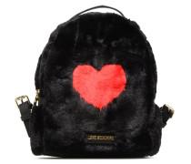 We Love Fur Backpack Rucksäcke in schwarz