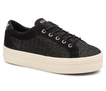 Plato Bridge Straw Sneaker in schwarz