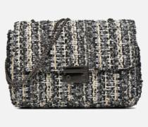 Porté épaule Onela Tweed Handtasche in grau
