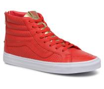 SK8Hi Reissue Zip Sneaker in rot