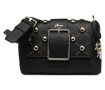 CAROLINE SHOULDER BAG Handtasche in schwarz
