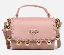 GOLDEN BALLS BAG Handtasche in rosa