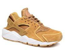 Wmns Air Huarache Run Prm Sneaker in gelb