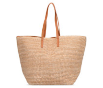 Ilana Shopper Beach Handtasche in beige