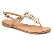 Carmen leather sandal Sandalen in mehrfarbig