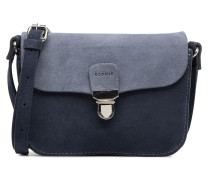 Bea Suede Small Shoulder Bag Handtasche in blau