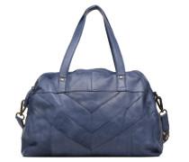 Gisele Leather Bag Handtasche in blau