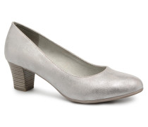 Anis Pumps in silber