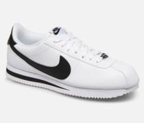 Cortez Basic Leather Sneaker in weiß