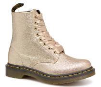 1460 Pascal Glitter Stiefeletten & Boots in goldinbronze