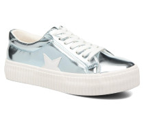 Cherry Sneaker in blau