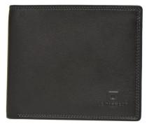 TOURAINE Portebillets poche monnaie rabat in schwarz