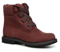 6in Premium Convenience Stiefeletten & Boots in weinrot