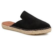 MOLIN SUEDE ESPADRILLE MULE Clogs & Pantoletten in schwarz