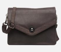 Faustine croco Mini Bag in grau