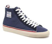 Mid Cut Shoe MERCURY MID CANVAS Sneaker in blau