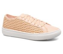 Jane Woven Sneaker in rosa