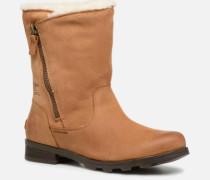Emelie Foldover Stiefeletten & Boots in braun