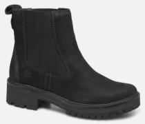 Courmayeur Valley Chelsea Stiefeletten & Boots in schwarz