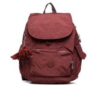 City pack S Rucksäcke für Taschen in weinrot