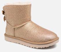 W Mini Bailey Bow Sparkle Stiefeletten & Boots in goldinbronze