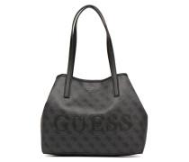 Vikky Tote Handtasche in schwarz