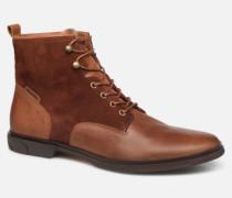Bank Mid SpalatoinSuede Stiefeletten & Boots in braun