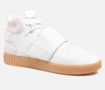 Tubular Invader Strap Sneaker in grau