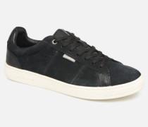 Jack & Jones JfwOlly Nubuck Sneaker in schwarz