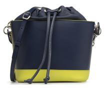 Seau Coquette Handtasche in blau
