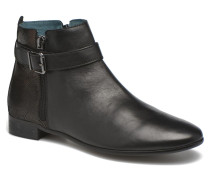 JOYAU Vo NOIRinMat.BRONZE ~Doubl & 1ere CUIR Stiefeletten Boots in schwarz