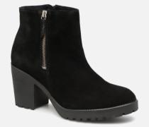 PSDEVRA SUEDE BOOT Stiefeletten & Boots in schwarz