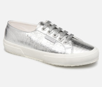 O 2750 Cotmetembossedcocco W Sneaker in silber