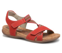 Okes R3257 Sandalen in rot