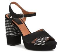 RANUKA Sandalen in schwarz
