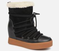 TRISH WOOL Stiefeletten & Boots in schwarz