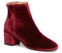 Eveludo Stiefeletten & Boots in weinrot