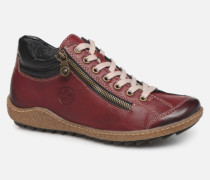Roro Sneaker in weinrot