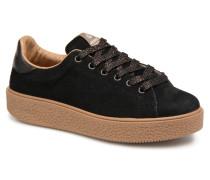 Deportivo Serraje Sneaker in schwarz