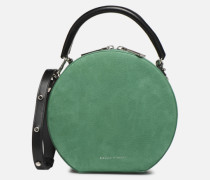 CIRCLE BAG CROSSBODY NUBUCK Handtasche in grün