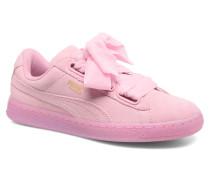 Suede Heart Reset Wn's Sneaker in rosa