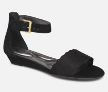TM Zandra Curve Ank C Sandalen in schwarz