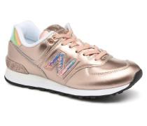 WL574 Sneaker in goldinbronze