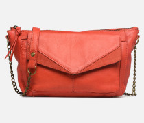 BETH LEATHER SMALL CROSSBODY Handtasche in rosa
