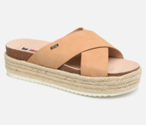 57486 Clogs & Pantoletten in beige